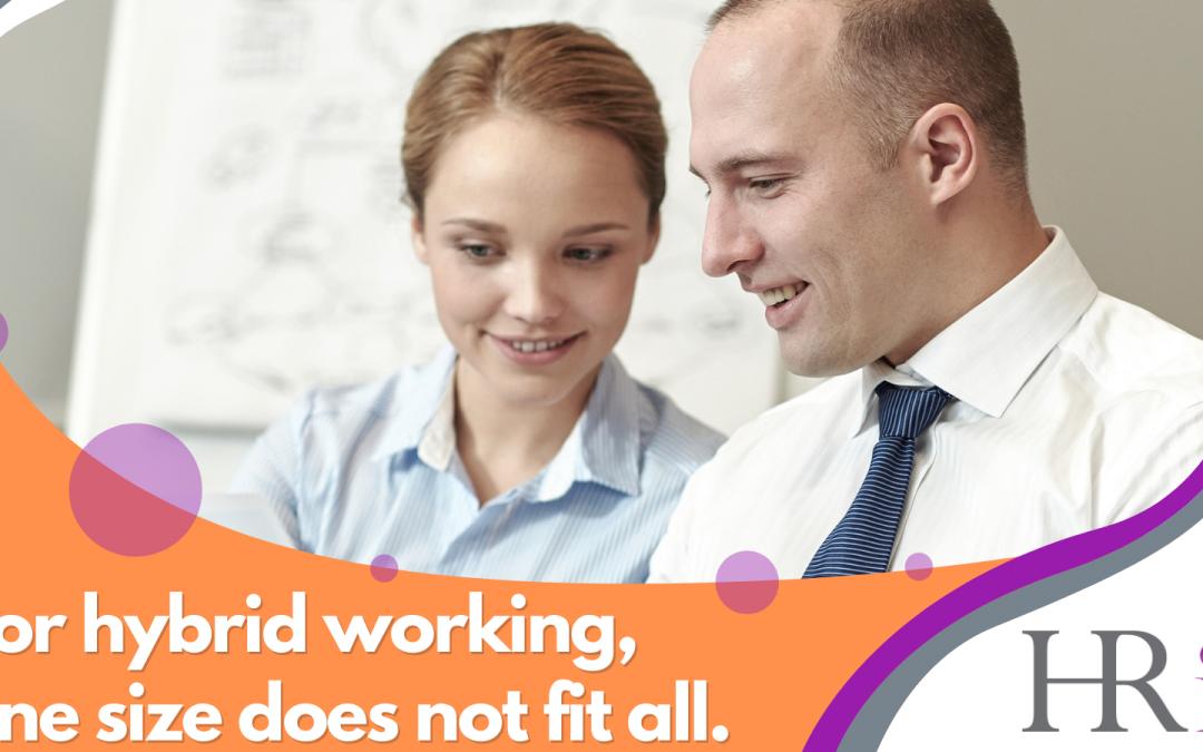 HR Initiatives hybrid working advice