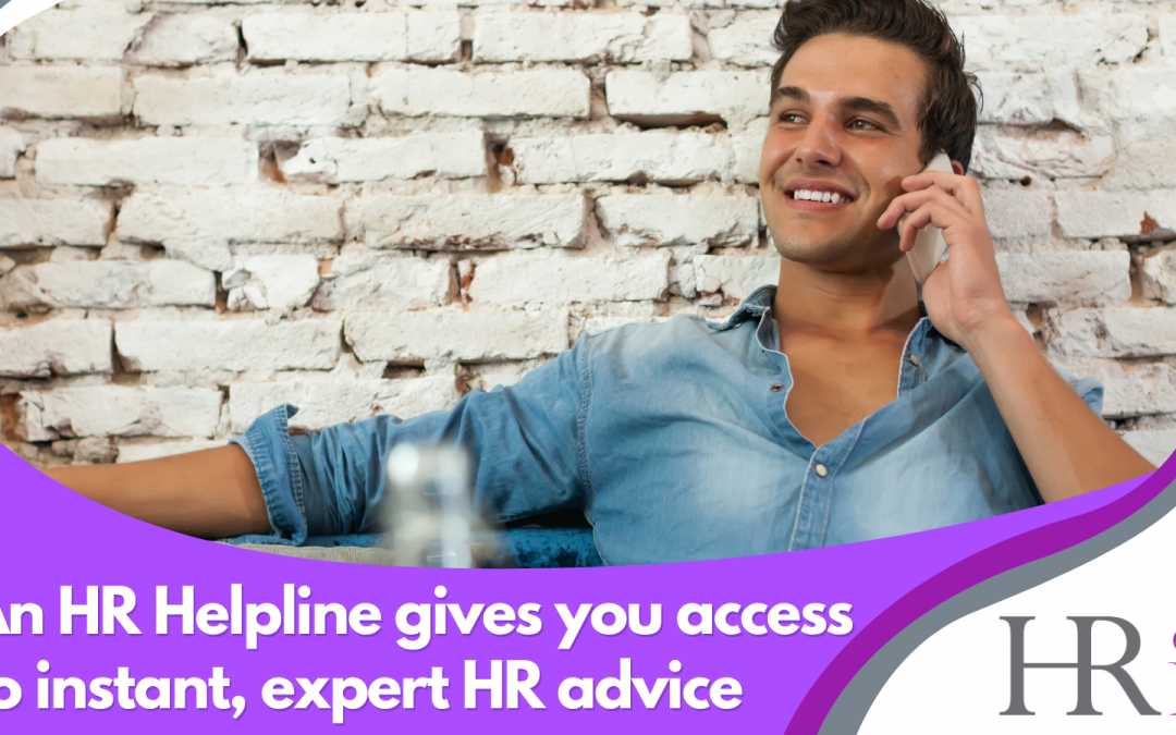 Why an HR Helpline can benefit your organisation